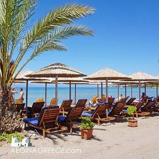 beaches on Aegina