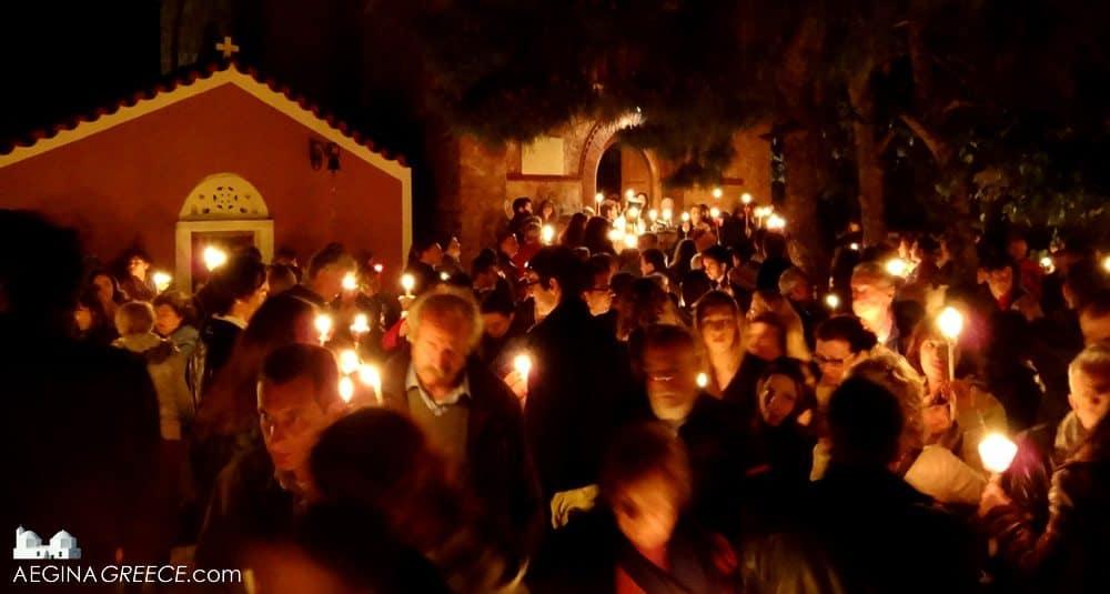 Le Samedi Saint - 20 Avril 2019 – (Images et Musique) - Tableau Poétique des Fêtes Chrétienne – Vicomte Walsh 19 eme siè Easter-celebrations-aegina-4