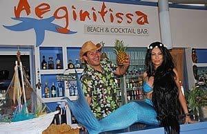 Stelios & Ria - Aeginitissa beach - Aegina beaches - AeginaGreece.com