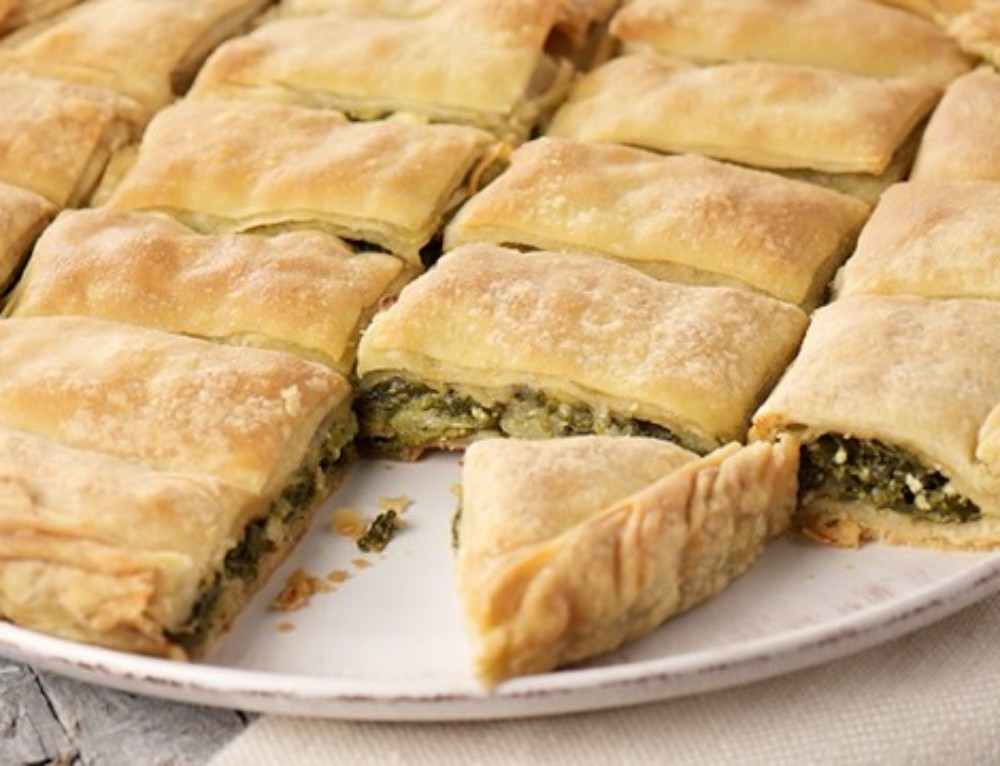 Nettle pie – a tradition in Aegina on Tsiknopempti
