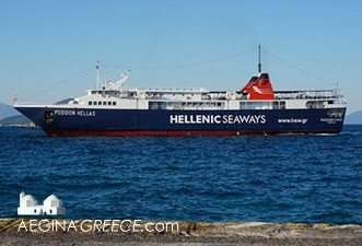 The Posidon Hellas of Hellenic Seaways
