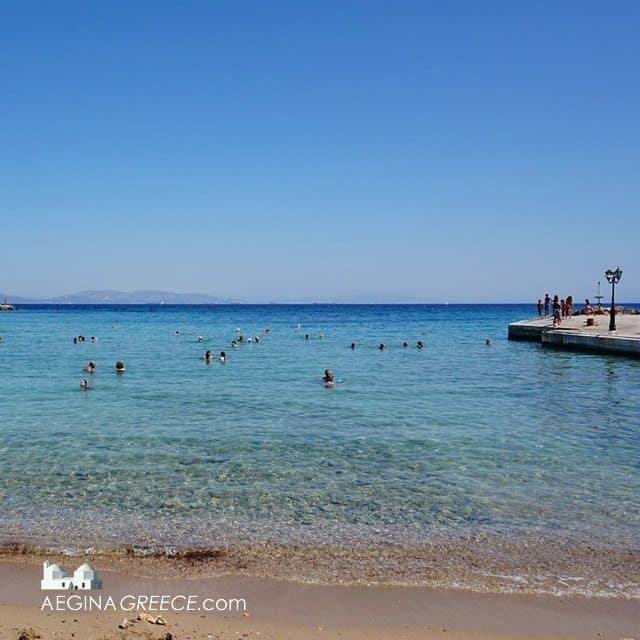Souvala beach Aegina island