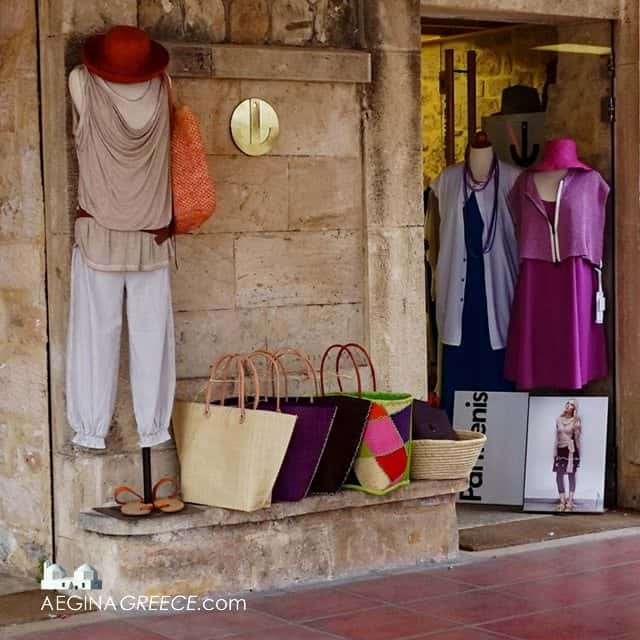 Anchor fashion clothes | shop Aegina town