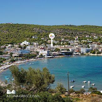 Hotel Karras located in Agia Marina on Aegina island