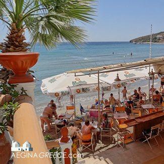 Akrogiali - Agia Marina beach