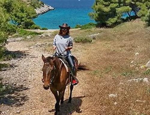 Horse Riding on Agistri island