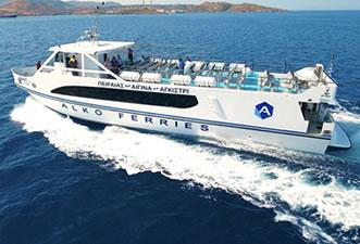 route Piraeus - Aegina - Agistri