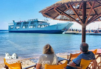 ferry boat Piraeus - Souvala - Aegina island