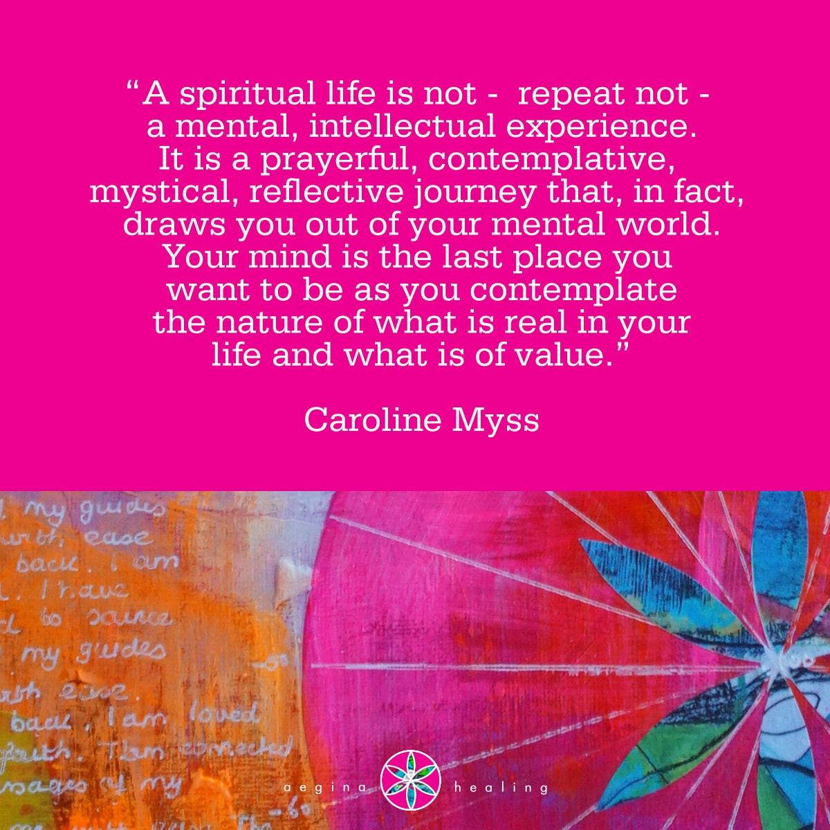 Caroline Myss Archives - Aegina Healing