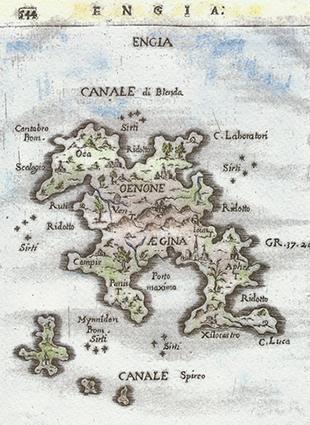 History Aegina island