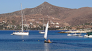 Sailing - yachting on Aegina island