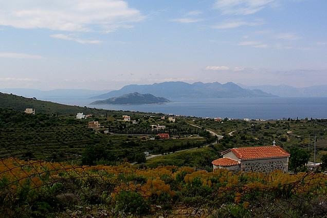Plot For Sale Pagoni Aegina Island